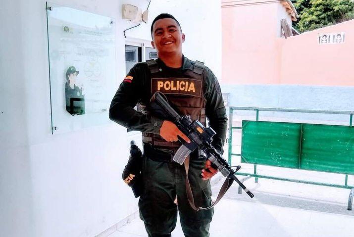 Denilson Scott González Policía Nacional