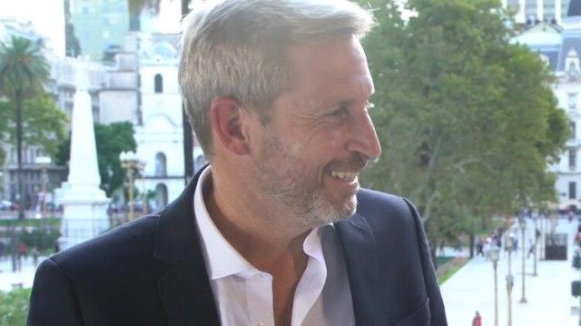 El ministro del Interior Rogelio Frigerio