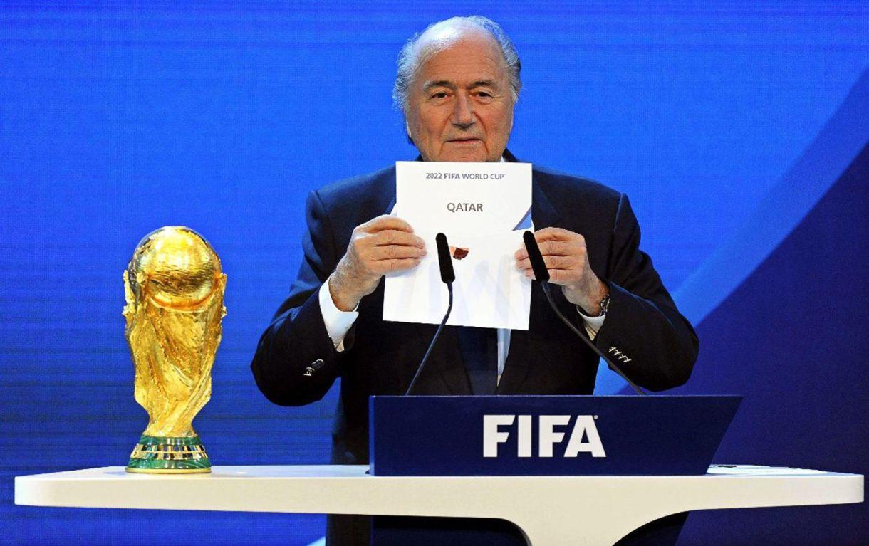 El momento en que Qatar fue elegido sede de la Copa Mundial de la FIFA 2022