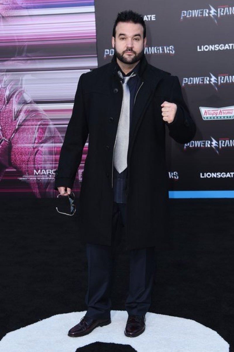 Austin St. John, durante la presentación de una de las películas de los Power Rangers (Foto: Richard Shotwell/Shutterstock -8550402ff-)