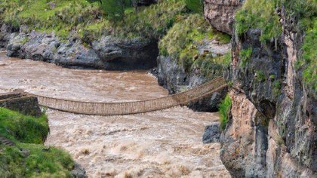 Tras 5 siglos, cayó el último puente inca de Cusco (Shutterstock.com)