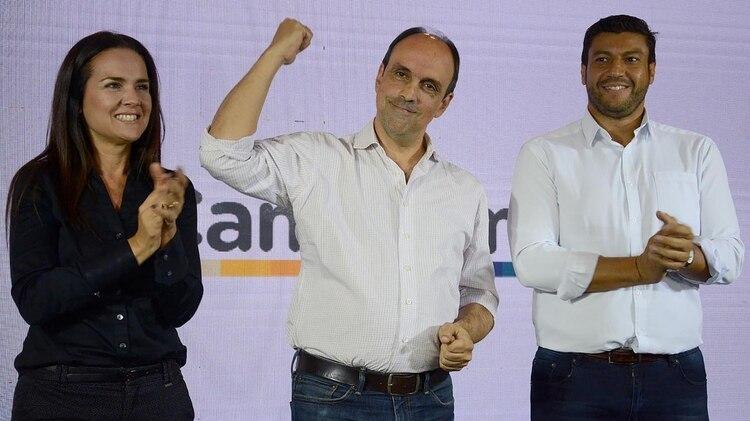 El candidato de Cambiemos, José Corral (Télam)