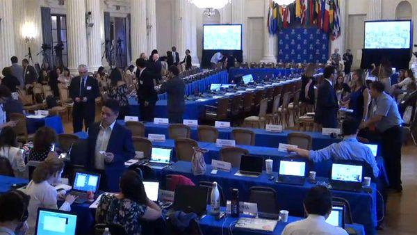 El texto, que se quedó a tres votos de la aprobación, pedía al régimen chavista reconsiderar la convocatoria de la Asamblea Constituyente