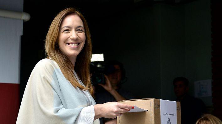 María Eugenia Vidal, ex gobernadora de la Provincia, firmó el comunicado