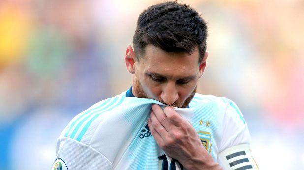 Messi vuelve a la selección argentina tras cumplir la suspensión que le impuso la Conmebol luego de la Copa América (AP)