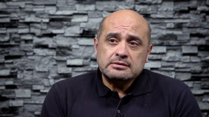 Francisco Giménez, el abogado que representa a los obreros que se presentaron como víctimas (Lihueel Althabe)