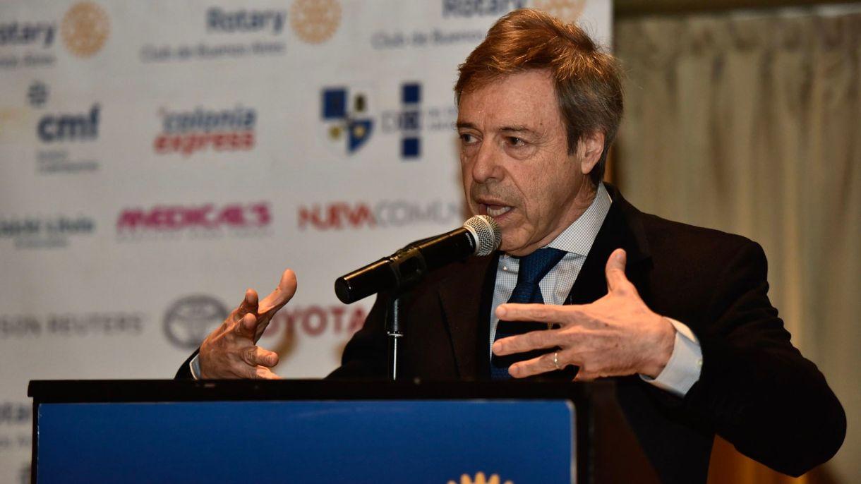 Carlos Ormachea, CEO de Tecpetrol (Adrián Escandar)