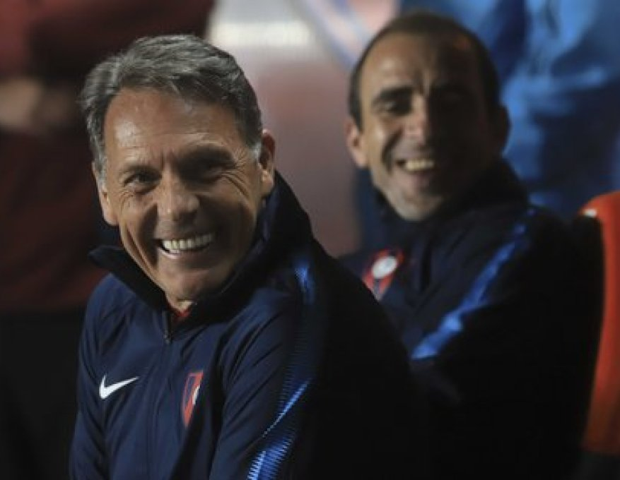 Russo summoned Somoza to his coaching staff when he took over Paraguay's Cerro Porteño last year (NA)