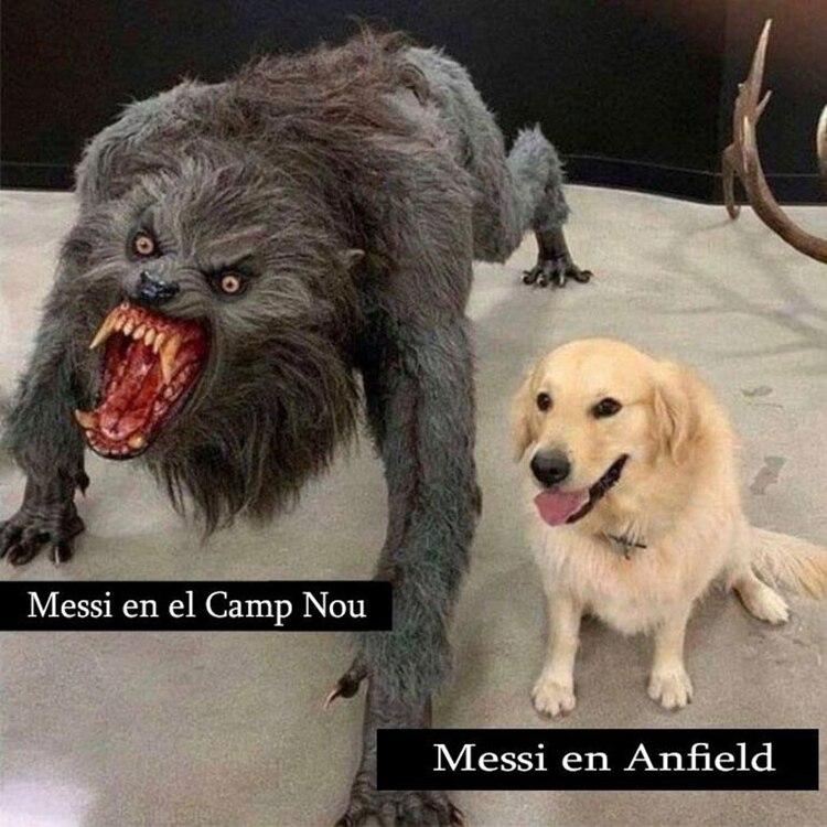 Las diferencia de Lionel Messi en la ida y en la revancha de las semifinales