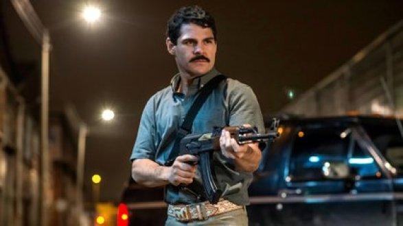 Marco de la O como El Chapo