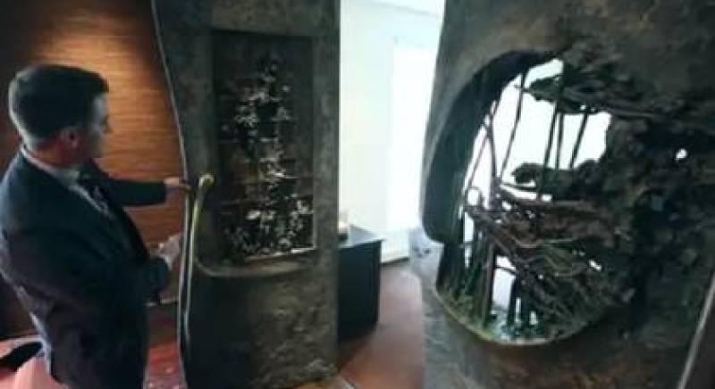 Jordan hizo instalar en su residencia una de las puertas de la Mansión de Playboy (Foto: Concierge Auctions)