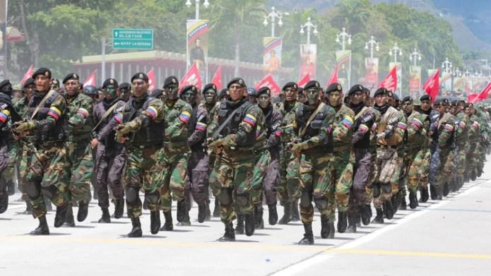 Soldados venezolanos (Reuters)