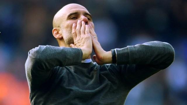 Guardiola se consagró campeón de la Premier League con el Manchester City este fin de semana(Reuters).