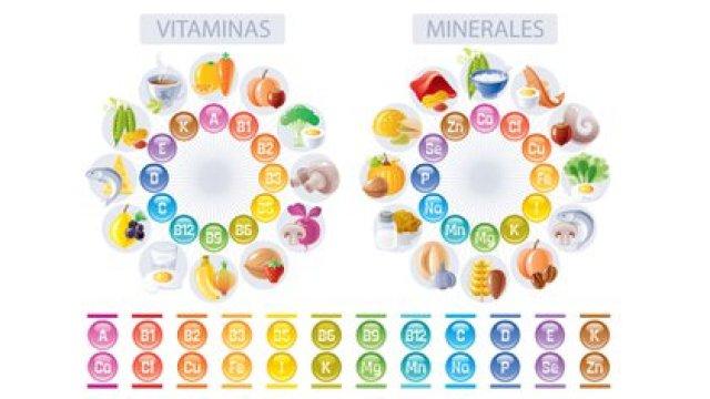 Vitaminas, minerales y en qué alimentos se incorporan (Foto: Shutterstock)