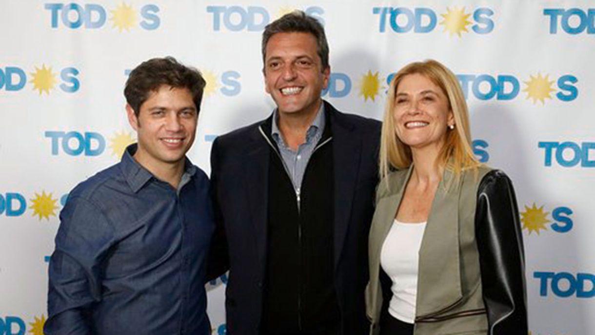 Kicillof compartirá actividades con Sergio Massa y Verónica Magario durante el segundo tramo de la campaña