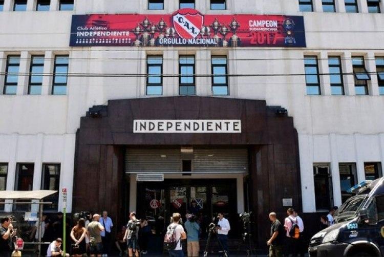 Fachada de la sede del Club Atlético Independiente
