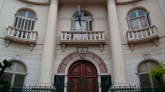 La Gran Logia de la Argentina de Libres y Aceptados Masones, en Perón 1242