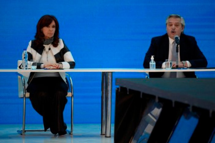 Alberto Fernández y Cristina Kirchner (EFE/ Juan Mabromata/Archivo)
