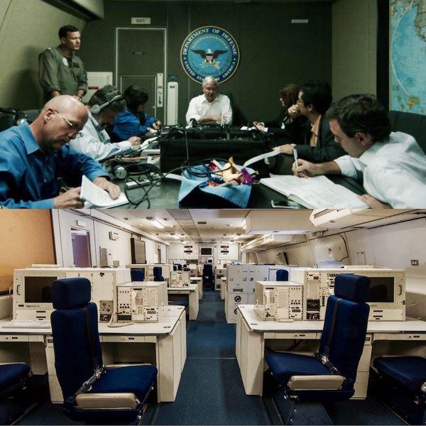 Los E-4B pueden comunicarse con cualquiera sin importar dónde se encuentre, incluso con la flota de submarinos nucleares, tras la pérdida de comunicaciones en tierra