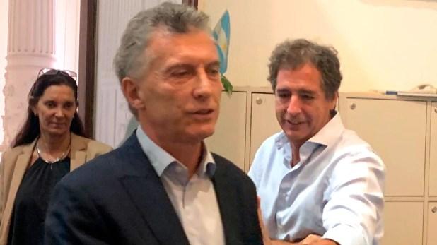 Mauricio Macri se despidió de los periodistas acreditados en Casa Rosada
