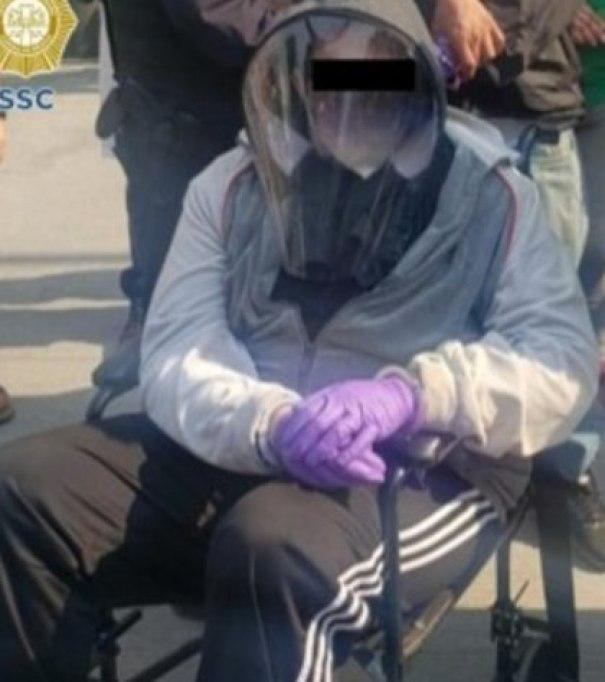 Uno de ellos incluso fingió no poder caminar por lo que pidió que los trasladaran en una silla de ruedas Foto: (SSC CDMX)
