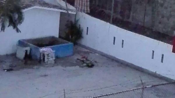 Escena del enfrentamiento en la cárcel de Acapulco en el que murieron 28 presos. (Foto: Especial)