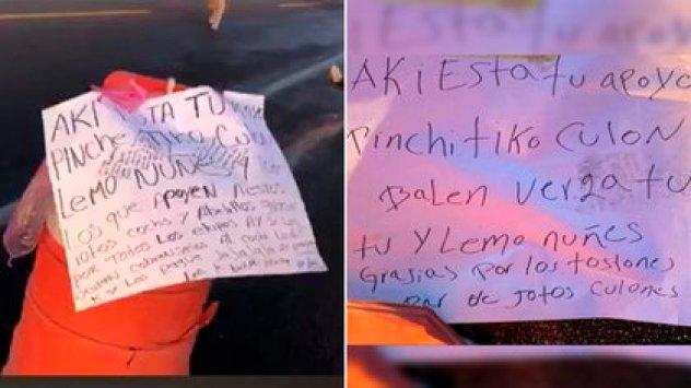 En los textos fueron implicados sobrinos y leales a Caro Quintero (Foto: Twitter / @vagoner35)