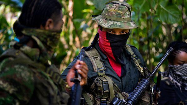 Terroristas del ELN (archivo AFP)