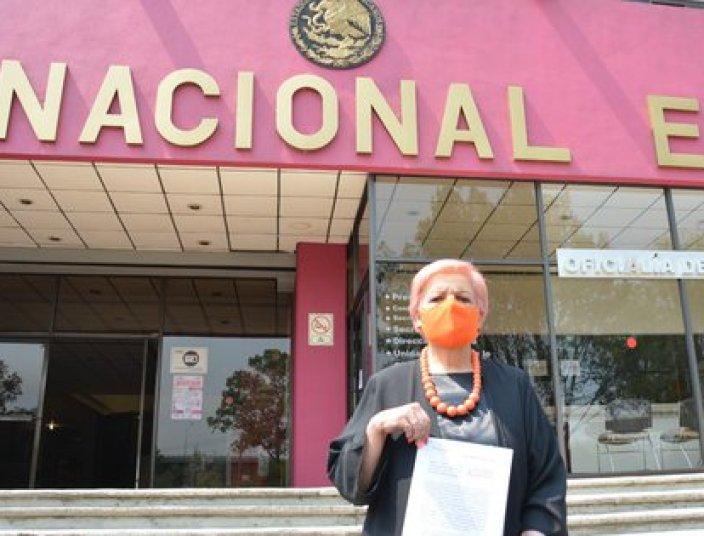 También se señaló como culpables al Erwin Neumaier, Jesús Ramírez y a Morena (Foto: Italia Chettino).