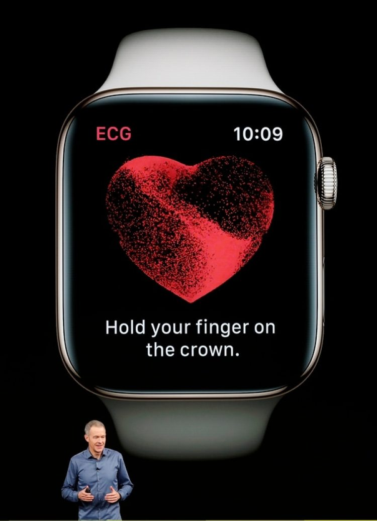 Apple Watch Series 4 realiza electrocardiogramas (Reuters)
