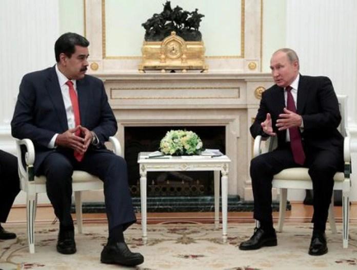 Foto de archivo: Maduro y Putin en Moscú el 25 de septiembre de 2019 (Sergei Chirikov/REUTERS)