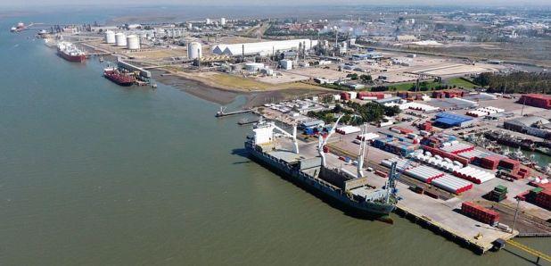 El Puerto de Bahía Blanca, uno de los afectados por la protesta de los transportistas independientes