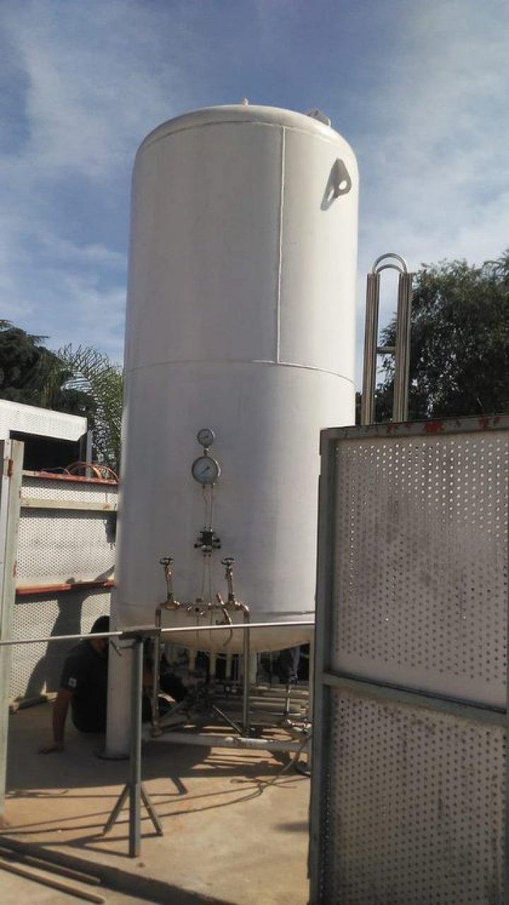 La burbuja de oxígeno en el hospital de Garín, en el municipio de Escobar, fue ampliada al triple de su capacidad