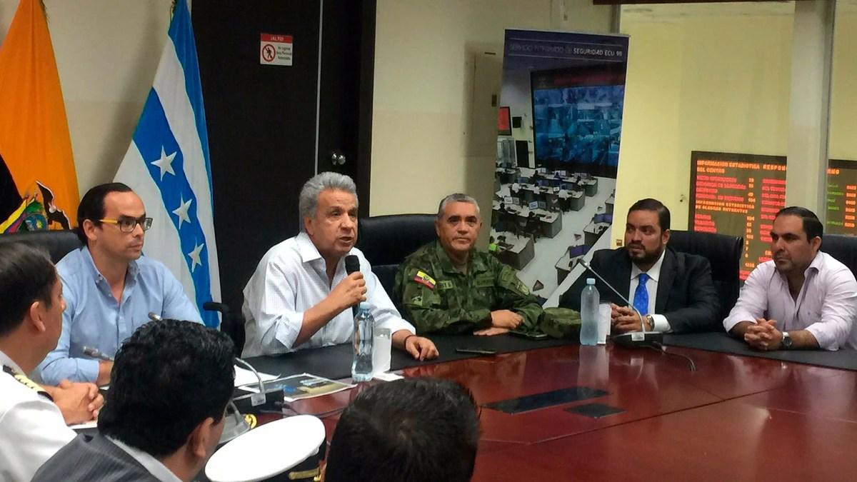 Lenín Moreno cambió la cúpula militar de Ecuador tras la represión a las protestas