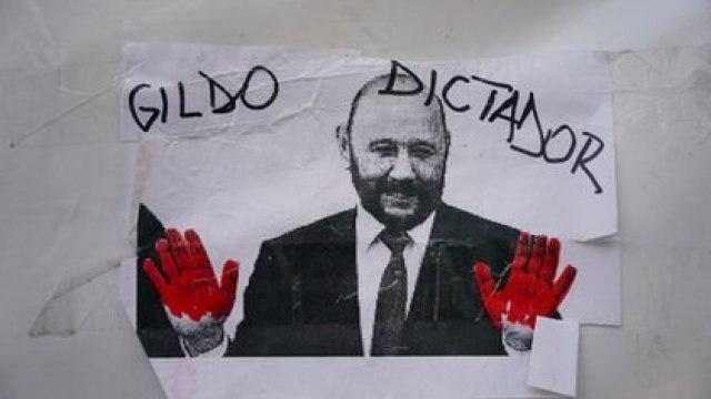 Los reclamos apuntan contra el gobernador Gildo Insfrán