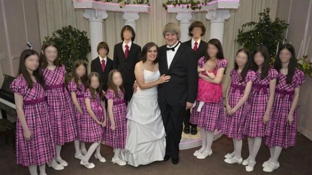 David y Louise Turpin mantenían cautivos a sus 13 hijos (Facebook)
