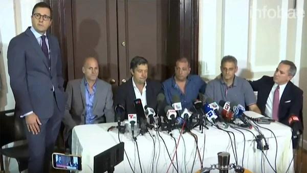 El viernes pasado, los sobrevivientes dieron una conferencia de prensa