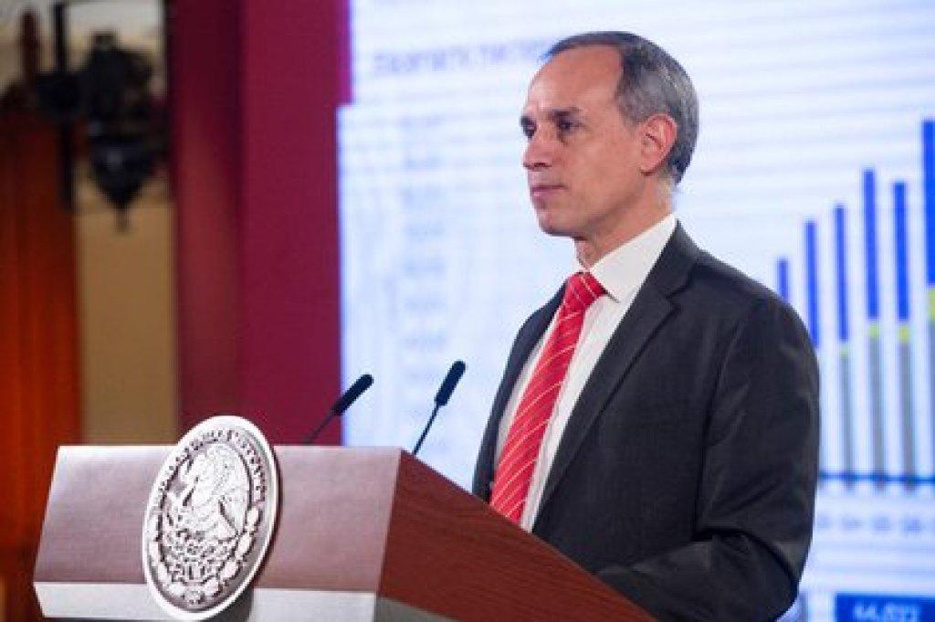 López-Gatell, el subsecretario de Salud, encabeza los esfuerzos del gobierno federal contra la epidemia de COVID-19 en México (Foto: Cortesía Presidencia)
