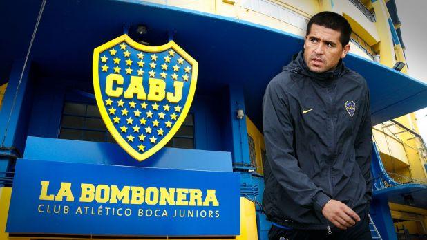 Román piensa en su partido homenaje en la Bombonera pero también define si acompañará a algún candidato en las elecciones del 8/12