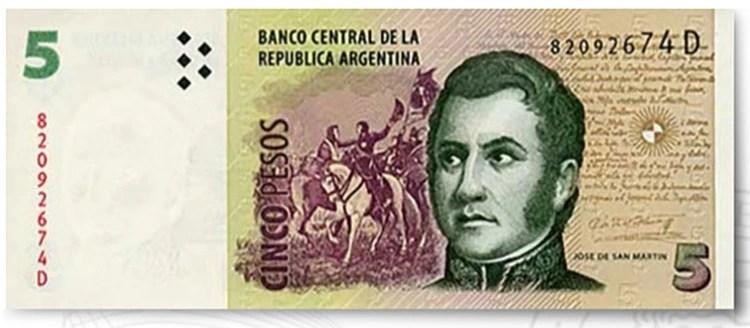 El billete de 5 pesos podrá ser utilizado hasta el 29 de febrero