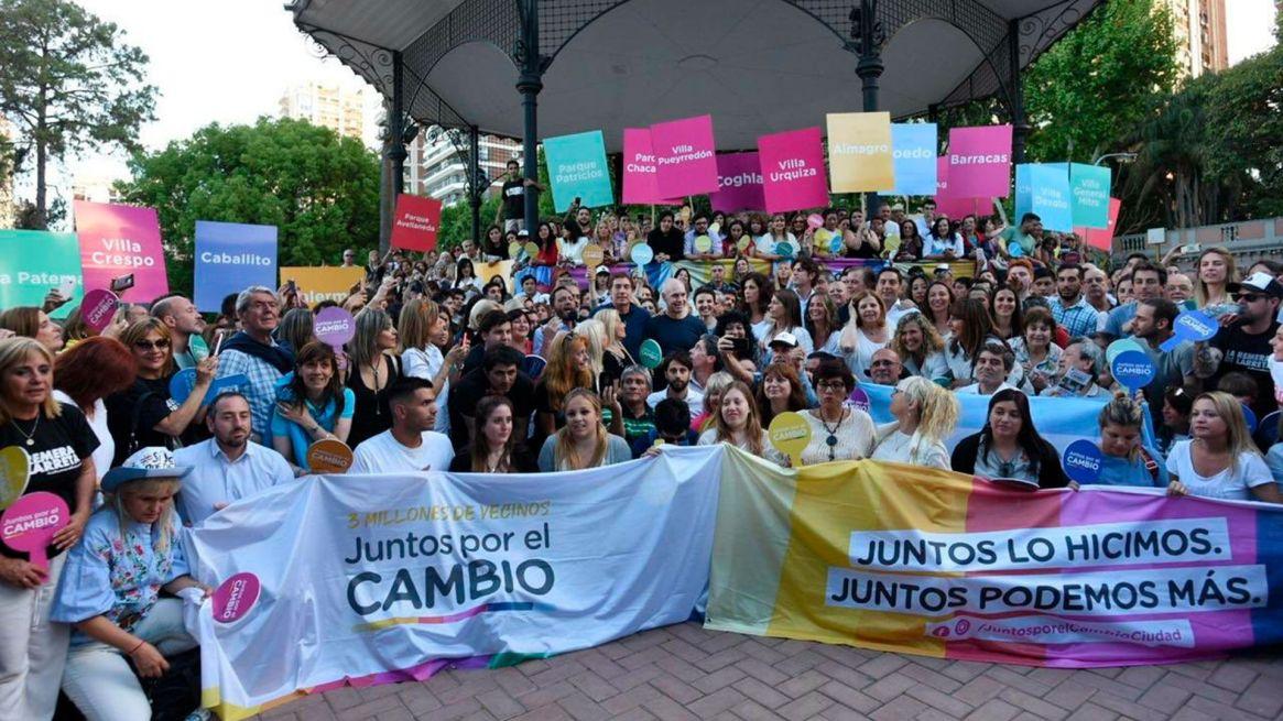 El cierre de campaña de Horacio Rodríguez Larreta en la Ciudad