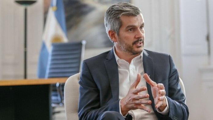 El jefe de Gabinete, Marcos Peña (Nicolás Aboaf)