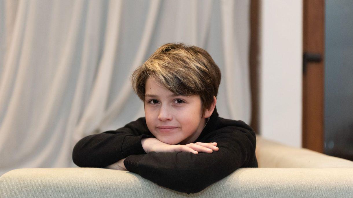 Juan Otero es el segundo hijo de Florencia Peña y Mariano Otero (Fotos: Adrián Escandar)