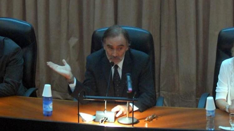 Leopoldo Bruglia, juez de la Cámara Federal