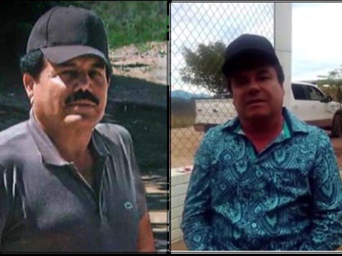 """Photo from left to right: Ismael """"eL Mayo"""" Zambada, """"El Chapo"""" Guzmán, and Ovidio Guzmán (Photo: Special)"""