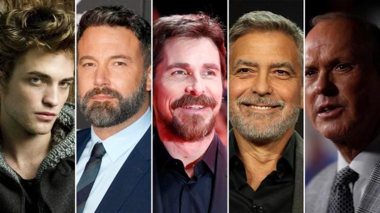 Algunos de los actores que han interpretado a Batman