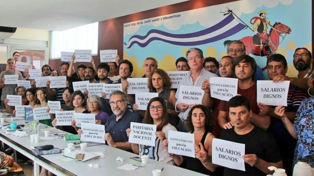 La Conadu, el gremio de los docentes universitarios un reclamo por salarios dignos