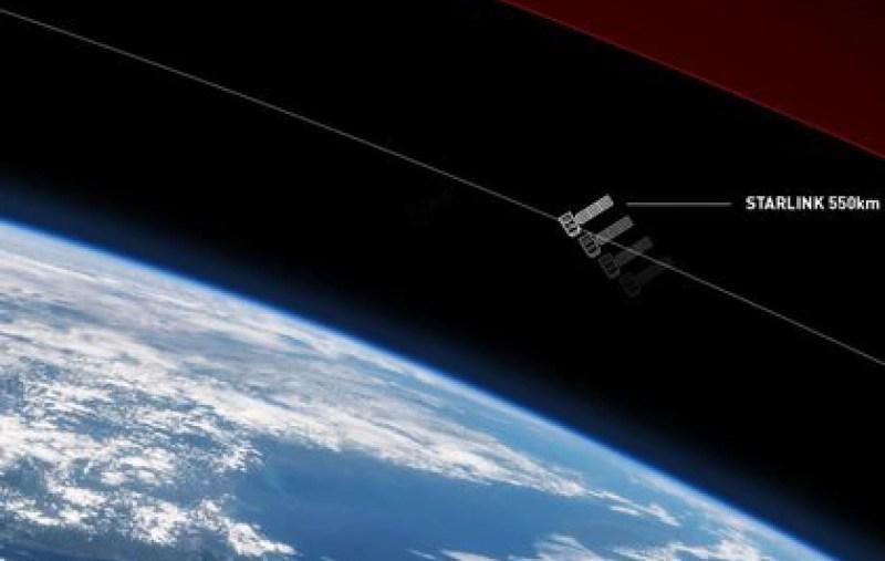 Se trata de una red interconectada de satélites para proveer de Internet a todo el mundo