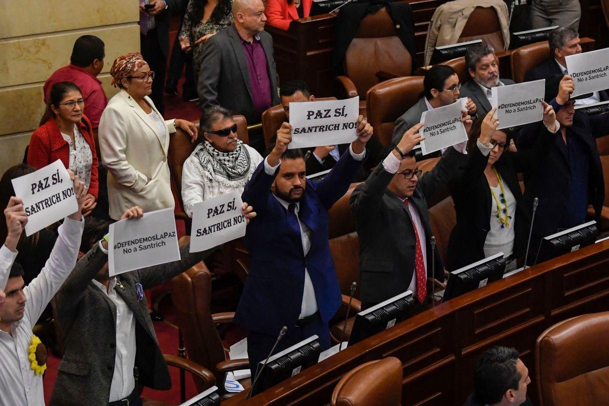 . (Photo by JUAN BARRETO / AFP)