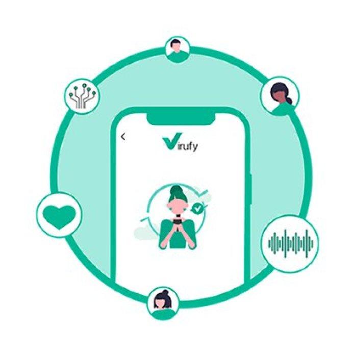 La app web Virufy no reemplaza las pruebas de diagnóstico de grado hospitalario